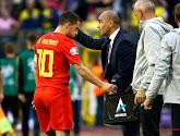 Roberto Martinez reste optimiste pour Eden Hazard