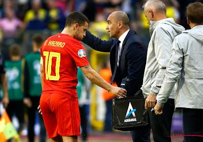 """Martinez optimiste : """"Nous aurons le meilleur Eden Hazard à l'Euro"""""""