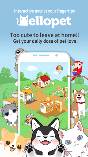 Hellopet - Cute cats, dogs and other unique pets 3.3.10 screenshots 1