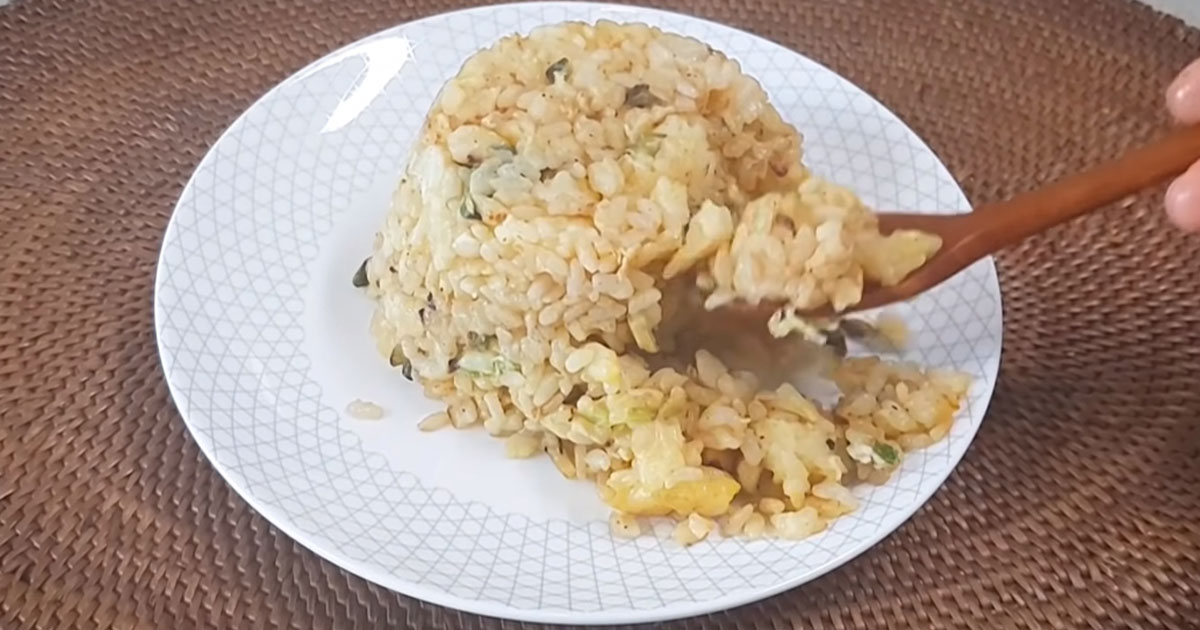How To Make Korean Egg Fried Rice With Just Three Ingredients Koreaboo