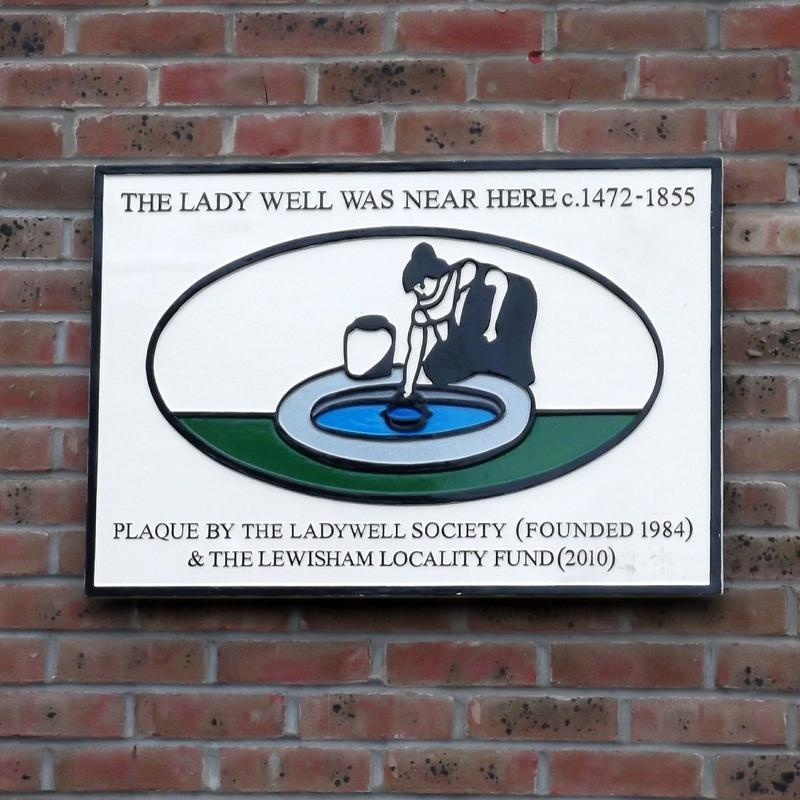 Image result for ladywell  plaque