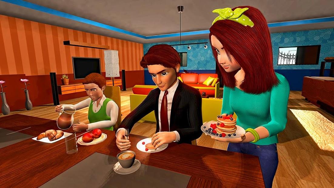 Virtual Mother Game: Family Mom Simulator screenshot 2