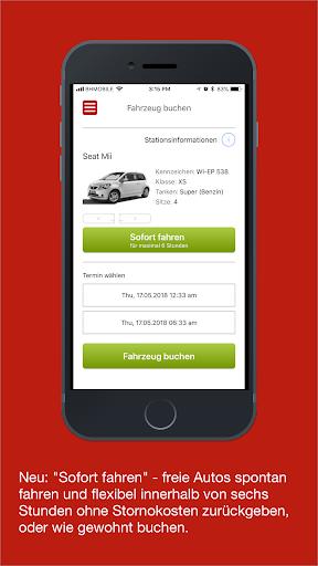 book-n-drive carsharing screenshot 1