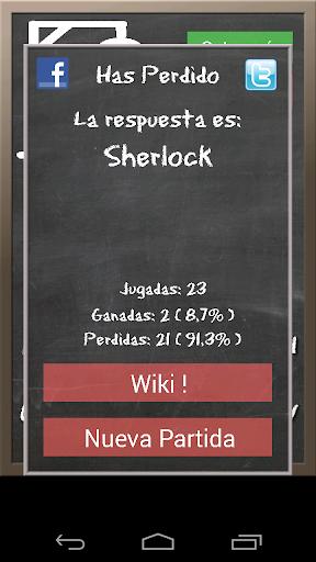 Hangman in Spanish Wiki screenshot 2