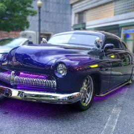 Purple Wheels by Michael Lunn - Transportation Automobiles (  )