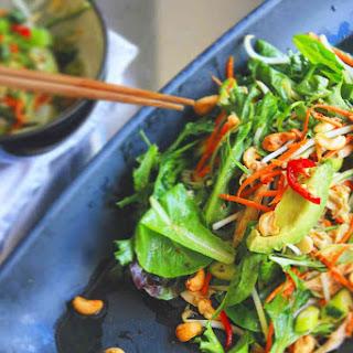 Asian Sesame-Orange Chicken Salad.