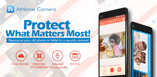 AtHome Video Streamer-turn phone into IP camera - Apps on