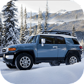FJ 4x4 Cruiser Snow Driving