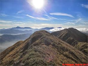 Photo: IMG_3989 sulla cresta Ravino Vallestrina, mi guardo dietro