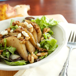 Pear, Walnut, and Gorgonzola Salad.