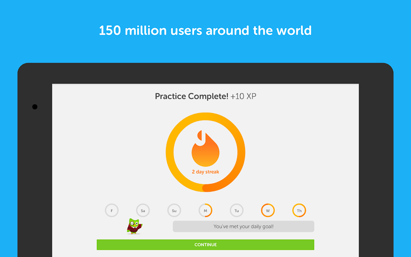 Screenshot 13 for Duolingo's Android app'