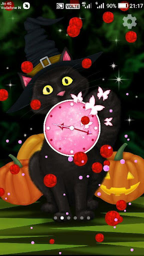 Download Halloween Cat Live Wallpaper Google Play Softwares