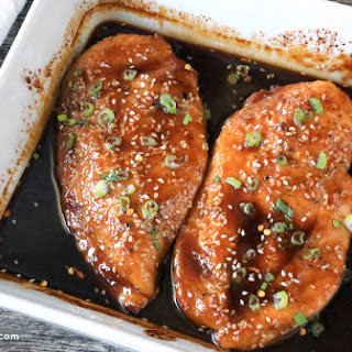 Baked Sesame Garlic Chicken