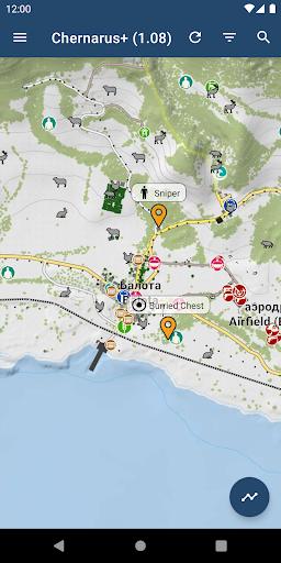 izurvive - map for dayz & arma screenshot 1