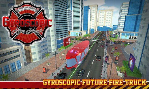Firefighter Gyroscopic Futuristic Truck - náhled