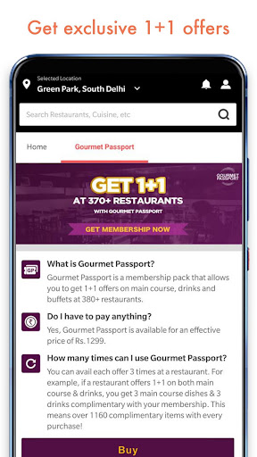 Dineout: Restaurant Booking, Reviews & Food Deals  screenshots 2