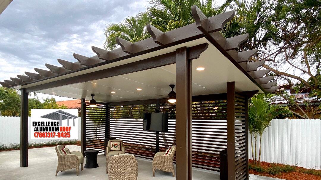 Best Price Aluminum Roof Pergola In Miami Fl Carport And Pergola