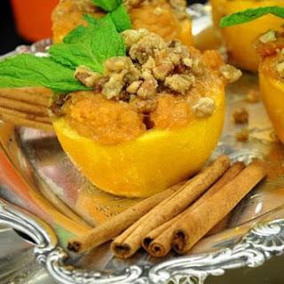 "Sweet Potato and Orange Cups (from ""The Original Tennessee Homecoming Cookbook,"" p. 221)"