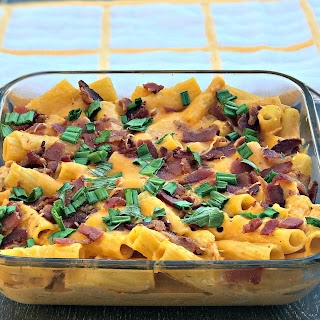Instant Pot Buffalo Chicken Rigatoni Pasta with Bacon Recipe