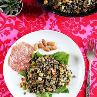 French Picnic Lentil Salad