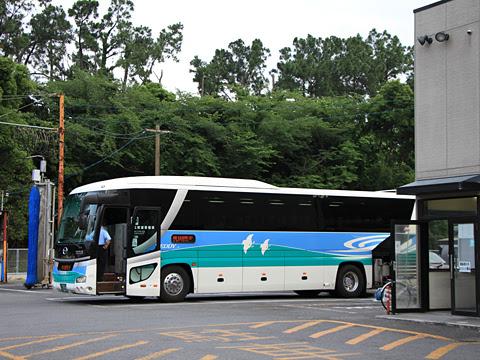 徳島バス「エディ号」阿南大阪線 ・271 橘営業所にて_02