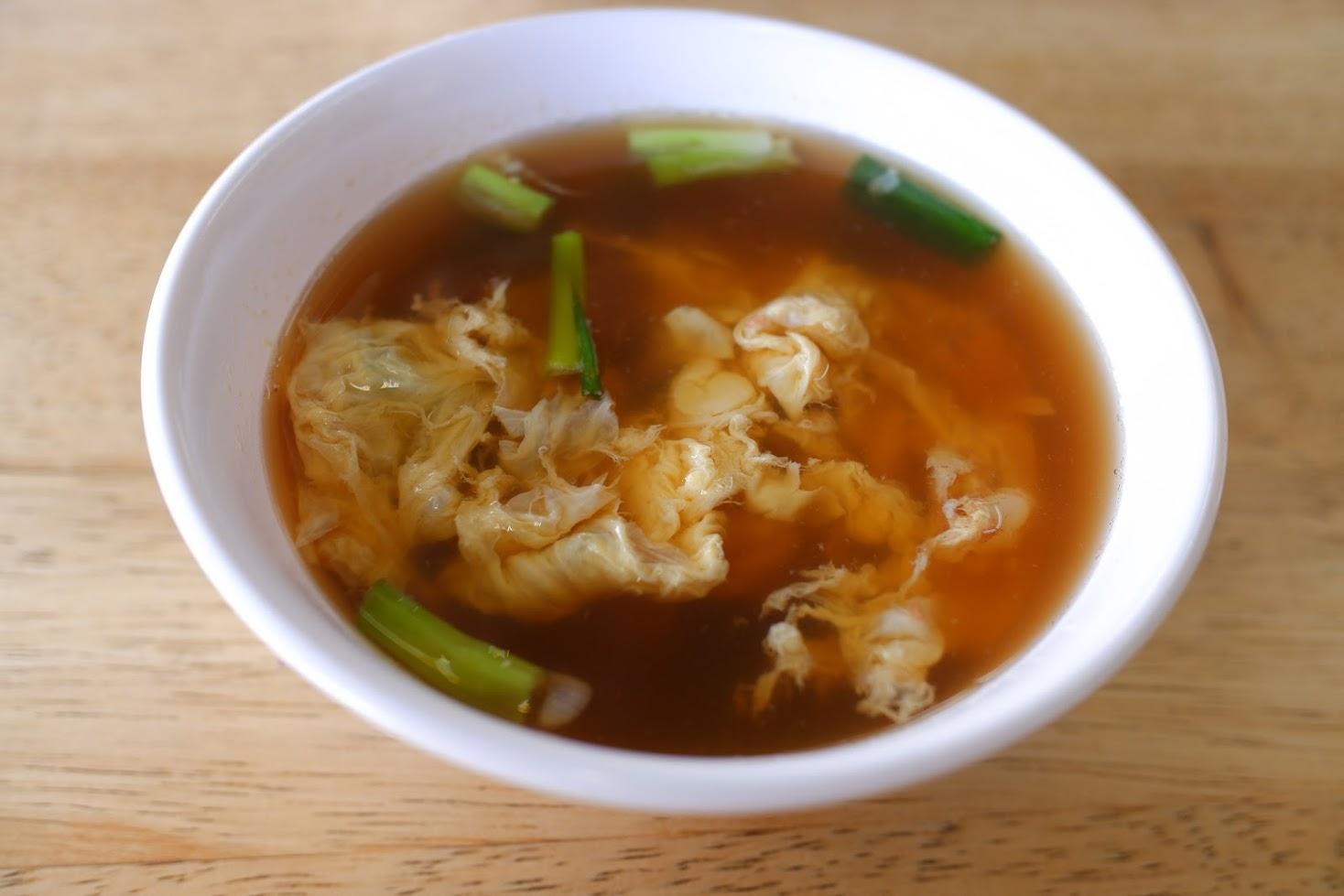 魚のすり身スープ