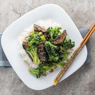 Vegan Broccoli Beef