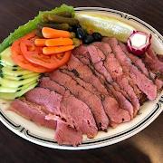 #14 Hot Corned Beef Deli Plate
