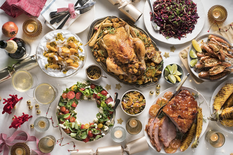 There's something for everyone in this crowd-pleasing Christmas feast.