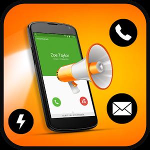 Caller Name Announcer + Flash Alerts + Flashlight for PC
