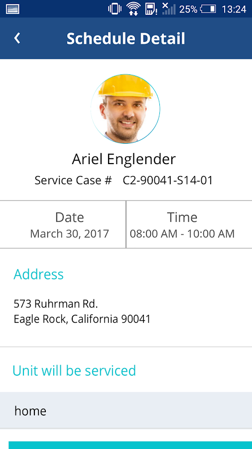 AirCall FixedCost HVAC Service- screenshot