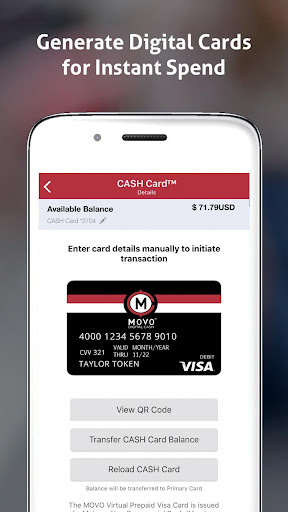 MOVO - Mobile Cash & Payments screenshot 3
