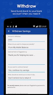PiggyBank.ng - True Savings App - náhled