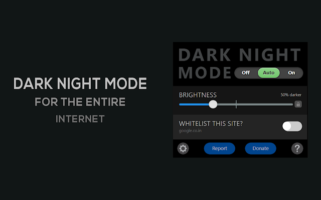 google chrome dark theme