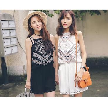 新款韓版民族風格套裝 $199 有興趣聯絡:6991-7992