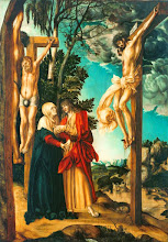 Photo: Lucas Cranach El Viejo., Lamentation Beneath the Cross, 1503
