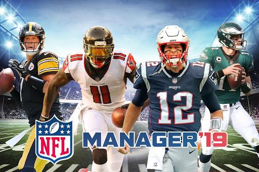 NFL 2019: Liga de Futebol e Manager