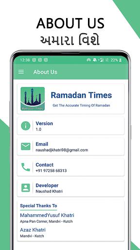 Ramadan Times - Roza Timing, Dua, Tasbih