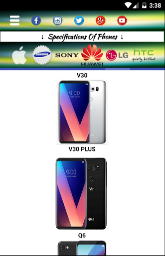 Mobiles Specifications And Prices screenshot 13