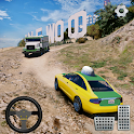 Taxi Driver 3D - Hill Station Game icon