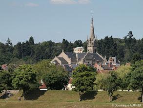 Photo: Vue sur l'église Saint-Etienne au téléobjectif