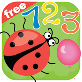 Learning numbers is funny! Educational game free!