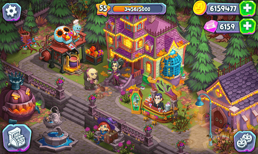 Monster Farm: Happy Ghost Village & Witch Mansion screenshots 10