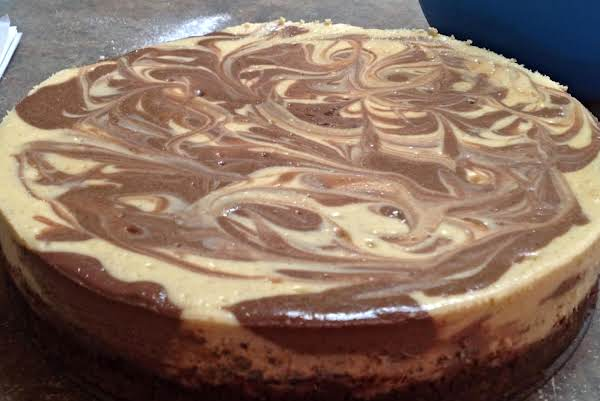 Irish Cream Marble Cheesecake Recipe