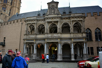 Photo: The ancient facade of City Hall