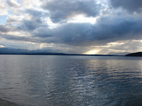 Photo: Pylades Channel from Valdes Island.