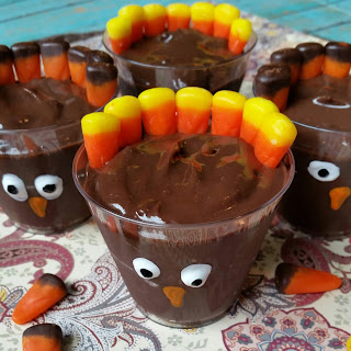 Turkey Dessert Shooters
