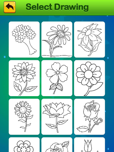 Flowers Coloring Book - Images Painting for kids cheat hacks