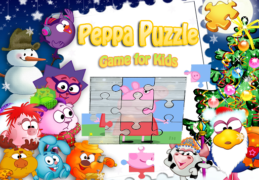 Peppa Puzzle For Kids-Pink Pig 1.0.4 screenshots 1