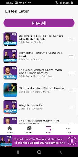 Absolute Radio screenshot 4